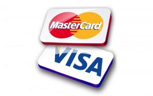 پرداخت آنلاین با ویزا کارت و مستر کارت